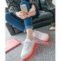 Size30-45 boa qualidade led shoes com light up incandescência luminosa tênis com sola de luz crianças dos miúdos shoes chinelos de flash led