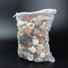5pcs Mesh Bag Aquarium Pond Filter Net Bag For Bio Ball Carbon Media Ammonia Aquariums Fish Tank Isolation Bags