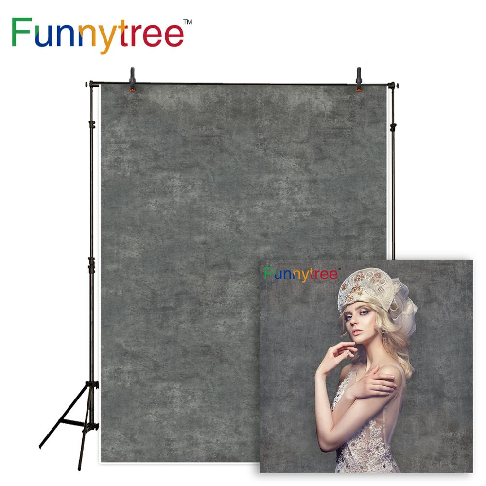 Funnytree photography background dark gray pure color old master portrait shooting backdrop photobooth photo studio photocall