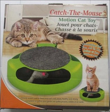 Hot Selling Pet Cat Toy Crazy Training Funny Toy For Cat Cat Toy Cat Mouse Toy Catch the Motion Mouse