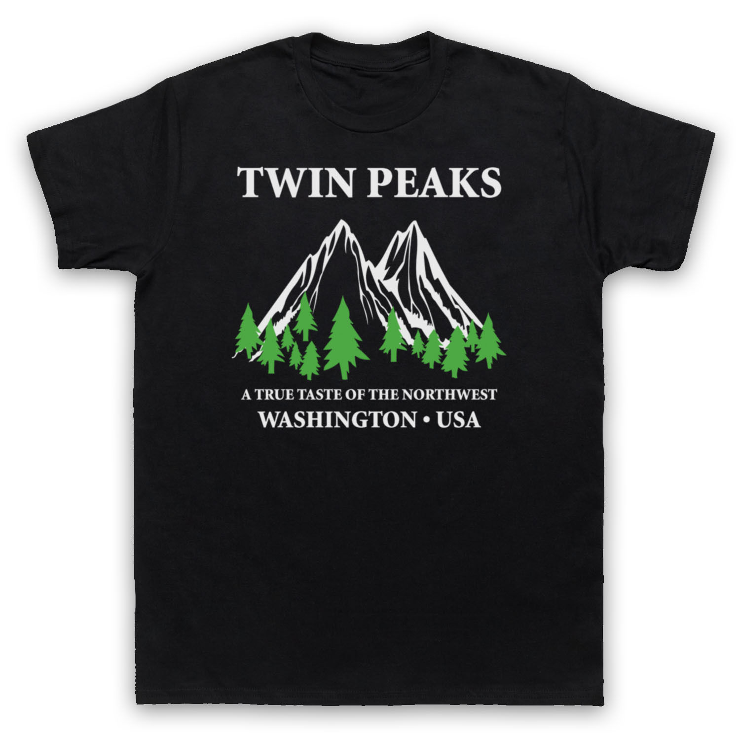 TWIN PEAKS A TRUE TASTE OF THE NORTHWEST UNOFFICIAL T-SHIRT ADULTS New 2018 Summer Style T Shirt Men Summer Style