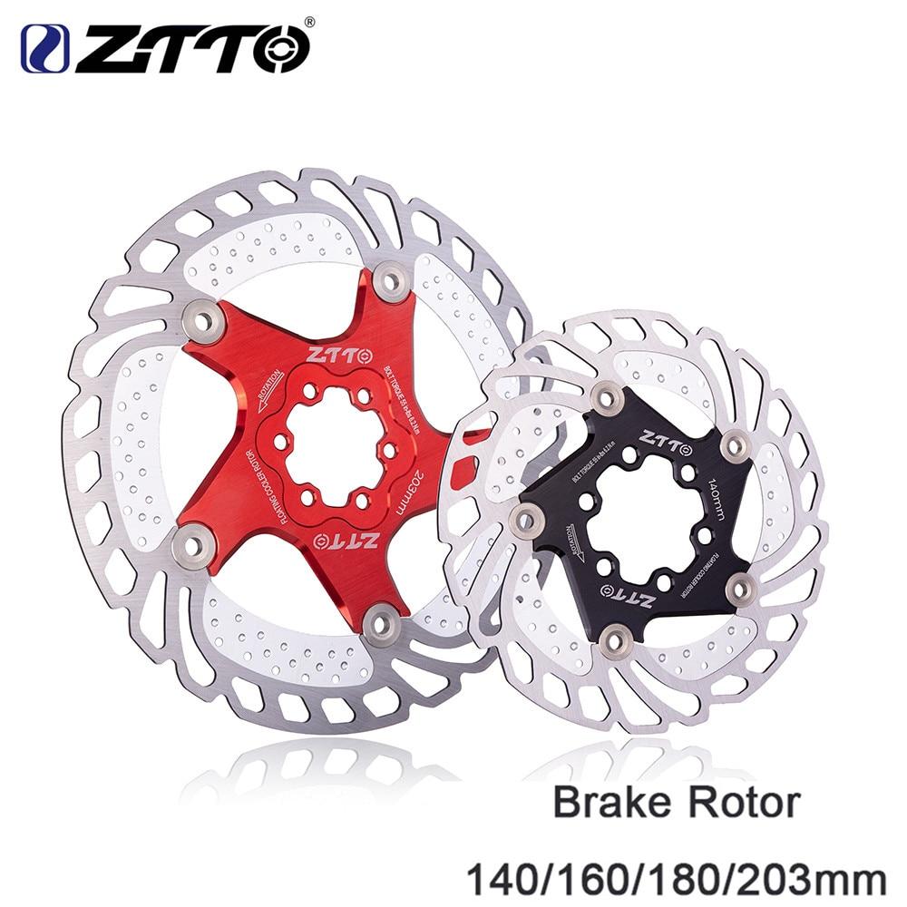 Mountain Bikes Bicycle Disc Brake Rotors 203mm 1pcs 6 Bolts
