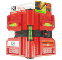 Free Shipping Kapro Post Level 3 Vial Levels 4 Magnetic Strips Pipe Fence Builders Spirit