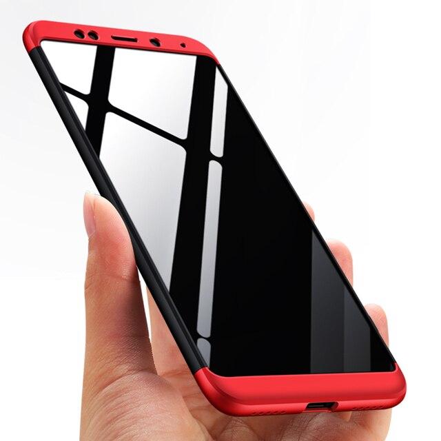 innovative design ebe79 04a7e US $4.99 |Knight Hybrid Triple Full Body Back Cover For Xiaomi Redmi S2 5  Plus Note 5A Slim PC Case Redmi S2 Note 5A Prime Coque Fundas-in Fitted ...
