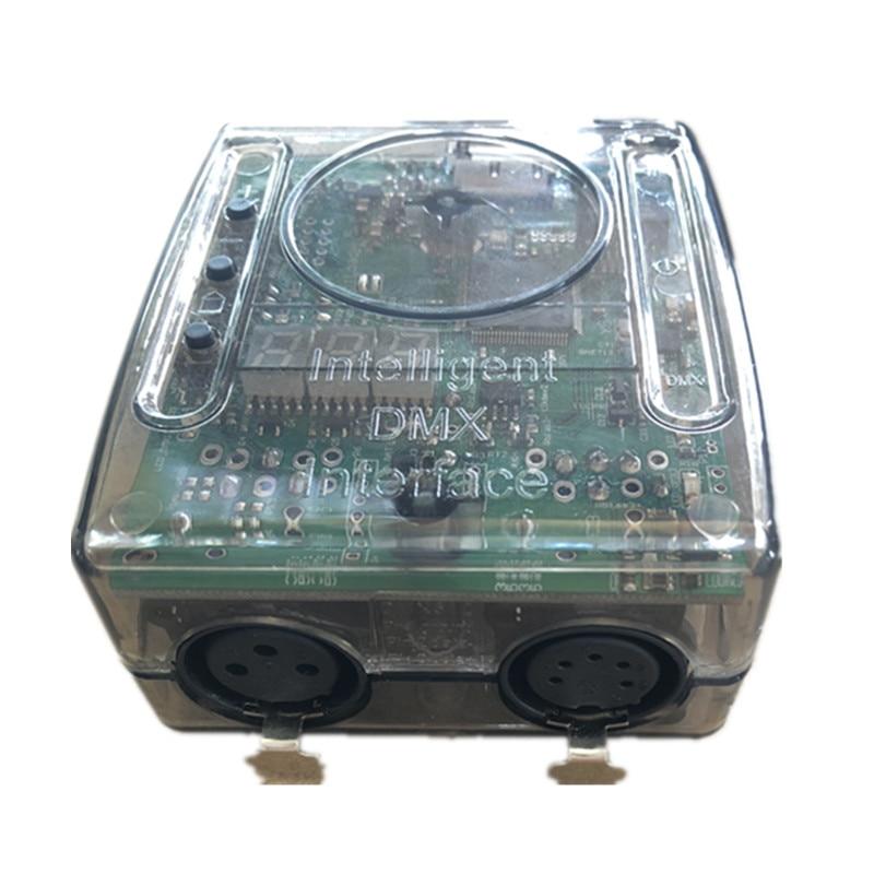 Daslight dmx512 lighting controller DVC4 intelligent dmx interface 3 and 5 pin XLR connectors support app Window 10 usb console