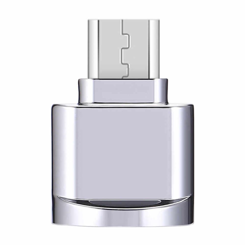 VOBERRY Liga USB 3.1 Mirco USB Micro SD TF Leitor de Cartão Adaptador OTG Para O Telefone Móvel Android