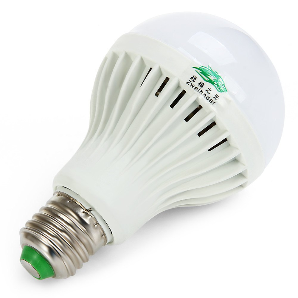 Zweihnder LED Lamp 9W E27 Low Power Consumption LED Ball Bulb Lamp ...