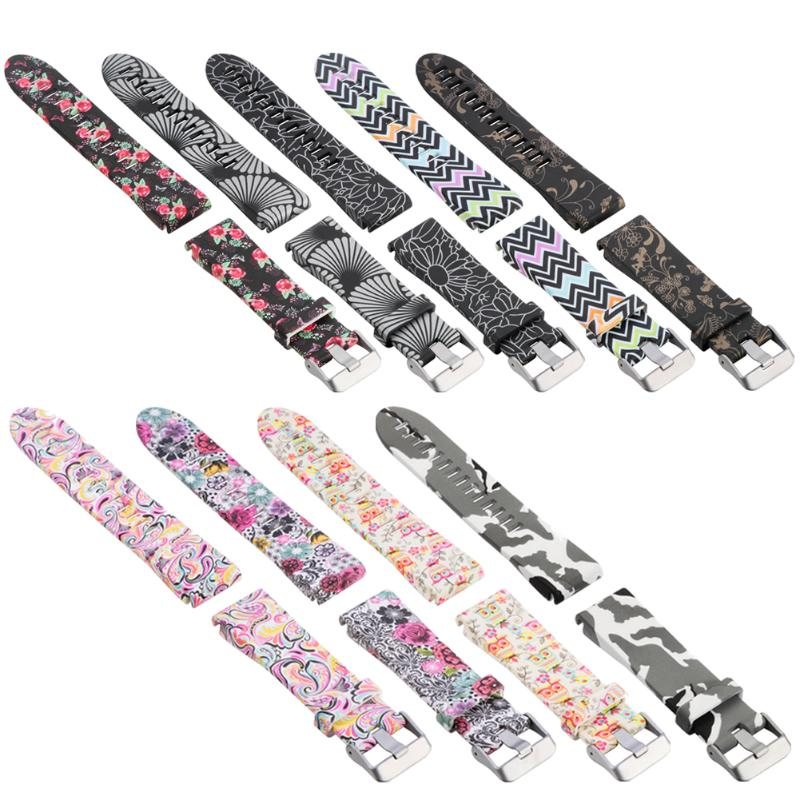 20mm Quick Release Strap Watchband for Garmin Fenix 5S Printed Sports Silicone Replacement Wristband Fenix 5S Watchbands цена