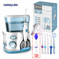 Waterpulse V300 Electric Oral Irrigator Water Flosser Oral Mouth Teeth nasal Pick Cleaning Dental Irrigator Portable Water Floss