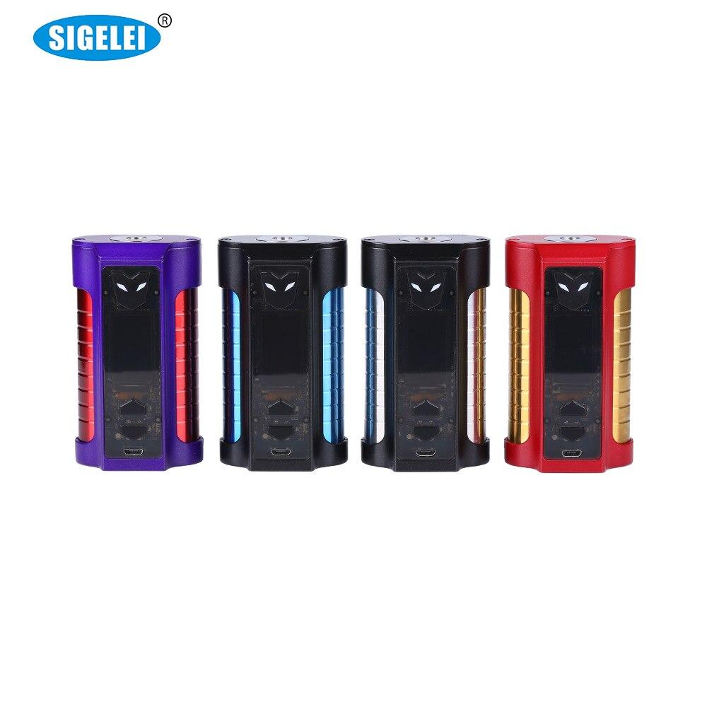 Liquidation D'origine 220 W Sigelei MT Mod E Cigarette Boîte Mod Compatible avec Revolvr Réservoir pour
