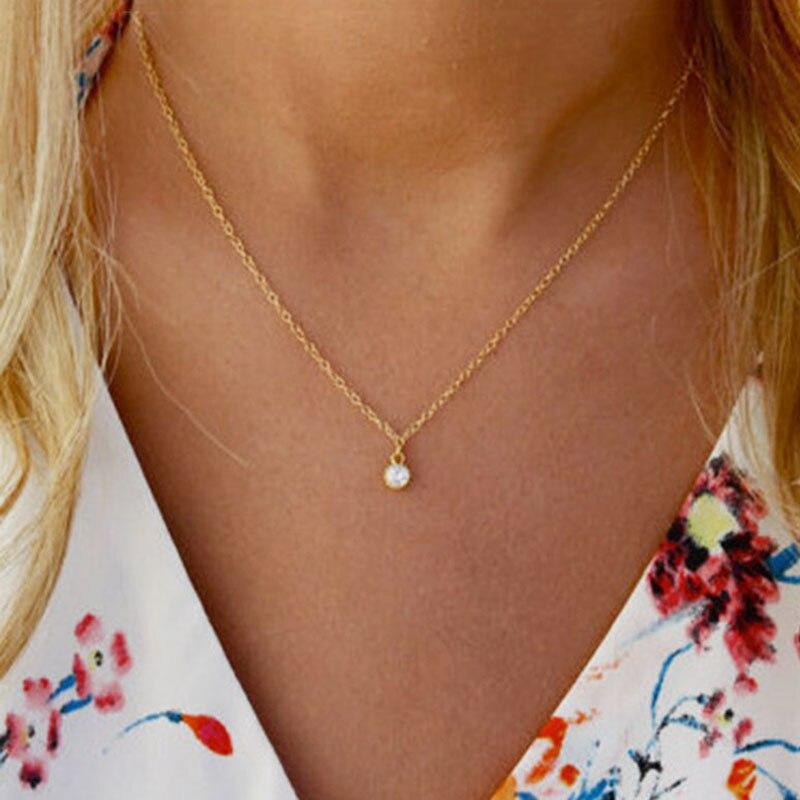 Simple Vintage Style Small Cross Charm Choker Necklace for Women Geometric Heart Pearl Chocker Jewelry Lovers Necklace YN365
