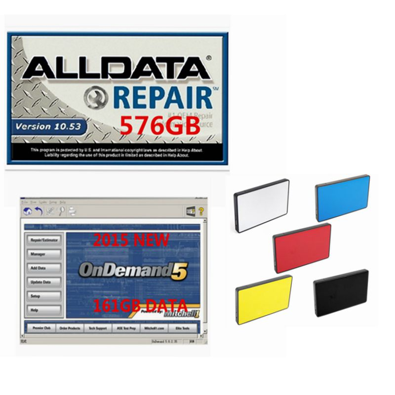 2018 New released 1TB HDD hard disk Alldata and mitchell software all data 10.53 mitchell on demand 2015 auto repair software 2018 hot alldata and mitchell software all data auto repair software mitchell on demand 2015 vivid workshop elsawin 1tb hdd usb