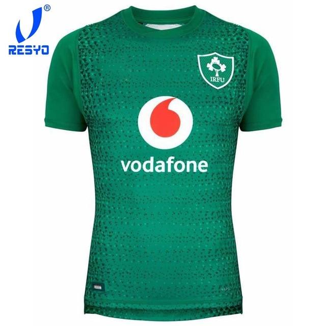 788101362 RESYO The Newest 2019 Irish World Cup Ireland Home/Away kits Rugby Jerseys  Shirt Football Shirt/