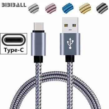 Кабель USB Type C длиной 1 м и 2 м для Huawei P20 Lite, Samsung Galaxy Note 8 9 A3 A5 A7 2017 S8 S10, кабель для зарядки и передачи данных USBC, кабель для передачи данных|Кабели для мобильных телефонов|   | АлиЭкспресс