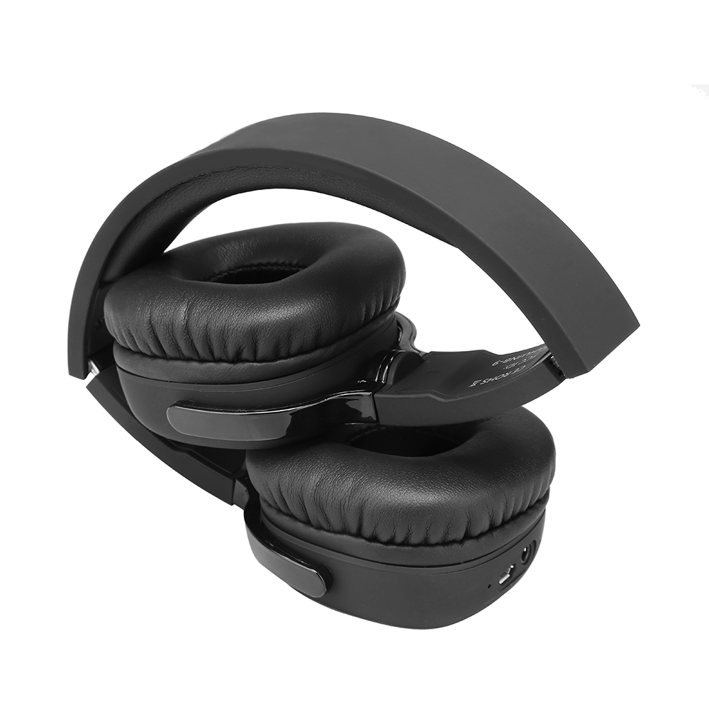 NB6S Active Noise Cancelling NFC Bluetooth Headphone Long Standby Foldable Wired headset with Mic for Cell Phone PC TV
