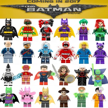 2017 Newest & Classic Marvel DC Super Heroes Single DIY blocks X MAN Avengers Justice League Model & Building Toys Blocks
