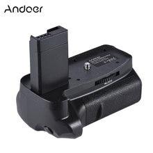 Andoer BG-1H Empuñadura de batería Vertical Compatible con batería de LP-E10 para cámaras Canon EOS 1100D 1200D 1300D / Rebel T3 T5 T6 DSLR