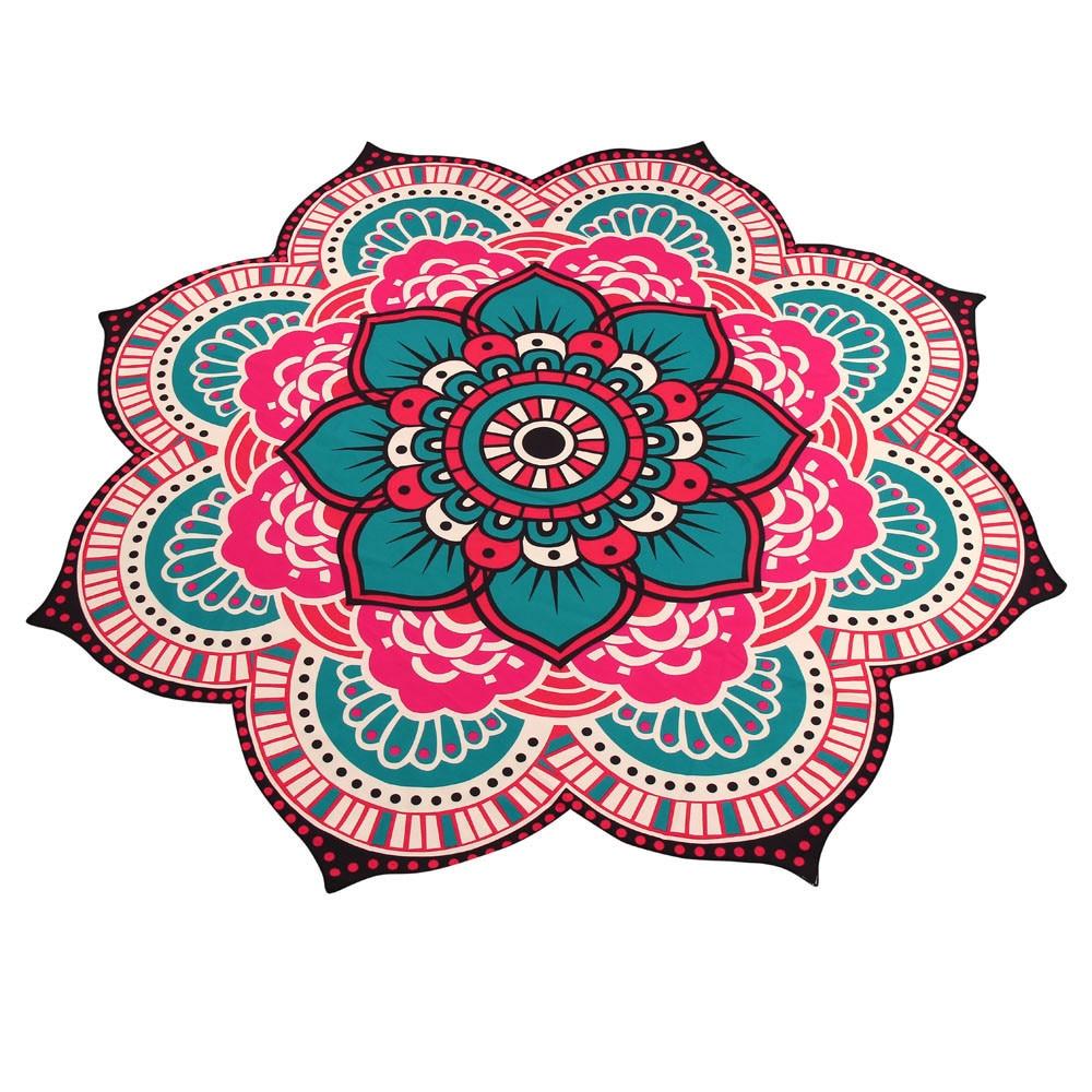 2018 Home Textiles Swimwear Mandala Towel Yoga Mat Bohemian Beach Pool Home Table Cloth Yoga Mat