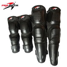 PRO BIKER Knee Pad Motorcycle Riding Kneepad Motocross Off Road Elbow Knee Protective Gear Set Brace