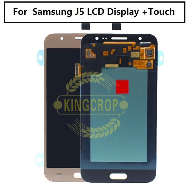 Nuovo Display Lcd J5 per Samsung J5 lcd J500 J500F J500G J500Y J500M Display Lcd con digitalizzatore Touch Screen