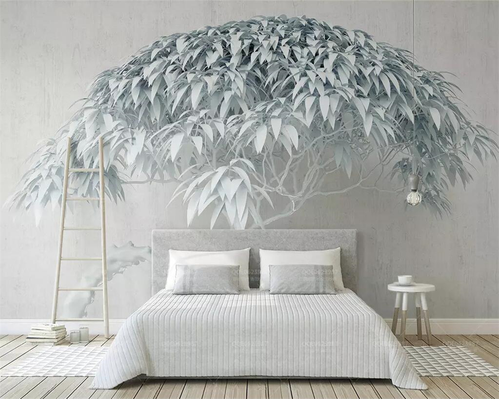 Beibehang Custom Wallpaper Creative Tree Stone Background 3d TV Background Wall Home Decoration Background Mural 3d Wallpaper