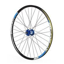 Ultralight Koozer Hub Bike Wheel Set 26 Inch Mountain Bike Wheels Bicycle Front 2 Rear 4 Bearing Hub (Front wheel + Rear wheel)