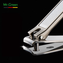 MR.GREEN Nail Clippers para las uñas de las manos, Escama de pescado como Nail File Regalos populares para hombres Mujer, Sharp y Druable Wide Easy Press L