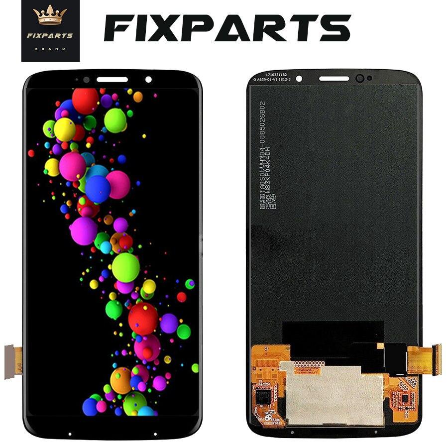 D'origine Pour Motorola Moto Z3 Jouer écran LCD + écran tactile panneau numériseur Assemblée Remplacement Pour Moto XT1929 LCD Z3 Jouer