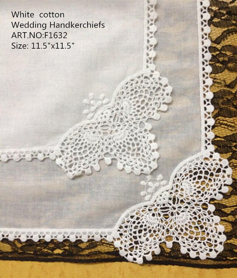 Novelty Women Handkerchiefs 12PCS/Lot 12X12