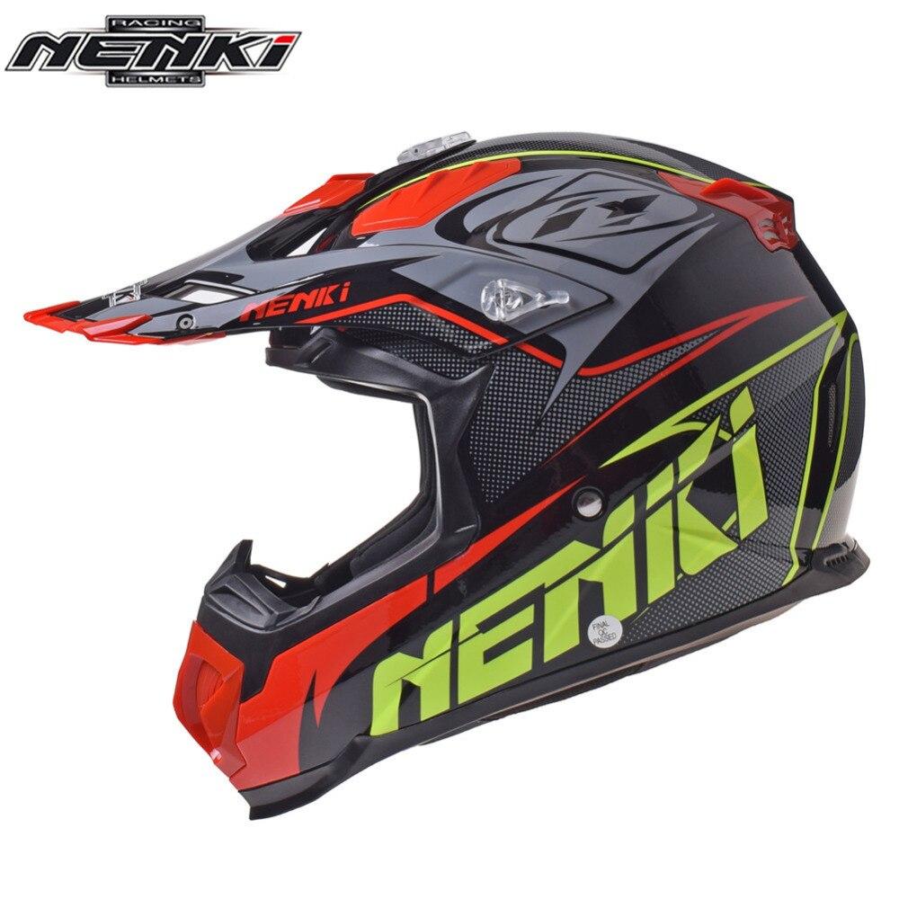 NENKI MX casque de Motocross hors route Casco Capacete Cross descente Moto vtt vtt DH Kask pour Moto casques vtt de montagne