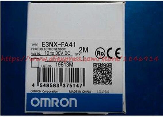 Livraison gratuite tout nouveau capteur photoélectrique OMRON original E3NX-FA41