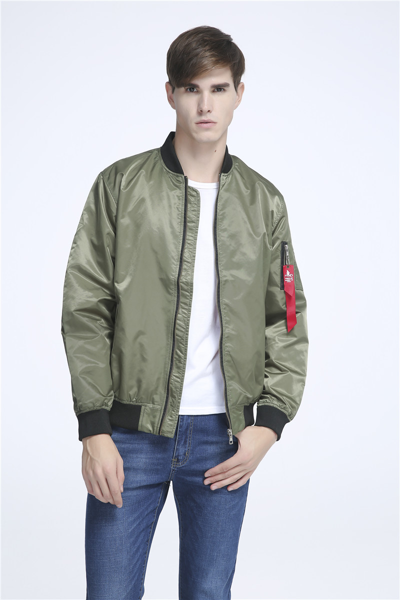 2016 Ma 1 Flight Bomber Jacket For Men Flying Nylon Lightweight ...
