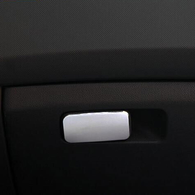 BBQ@FUKA Car Interior Glove Box Door Handle Cover Overlay Trim Lid Panel Car Styling Sticker Fit For LHD Hyundai ix25 2015