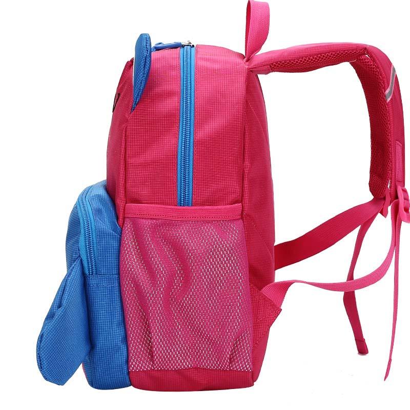 Presente de Natal Alunos Schoolbag Bonito Kid 3d