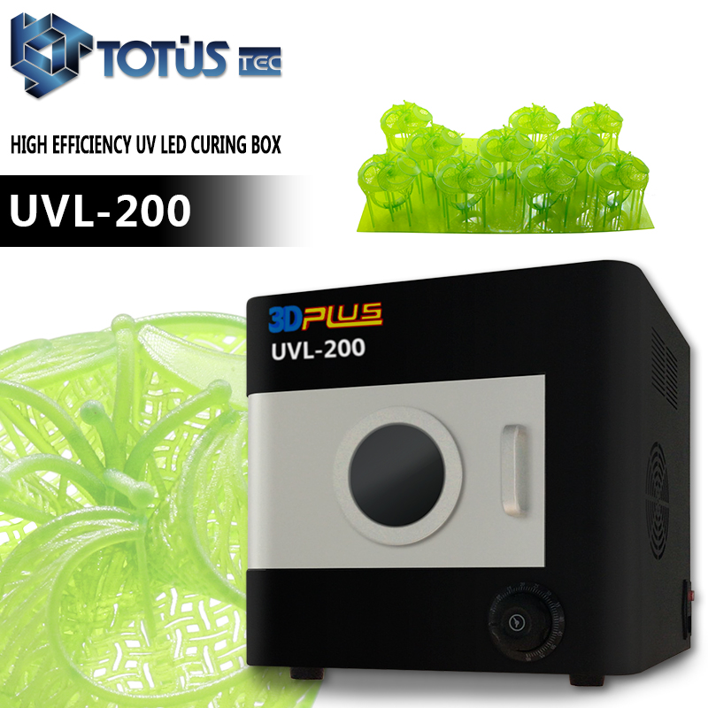 Approvisionnement d'usine DLP SLA 3D Impression Directement Coulable Résine Modèles LED uv photopolymérisation boîte