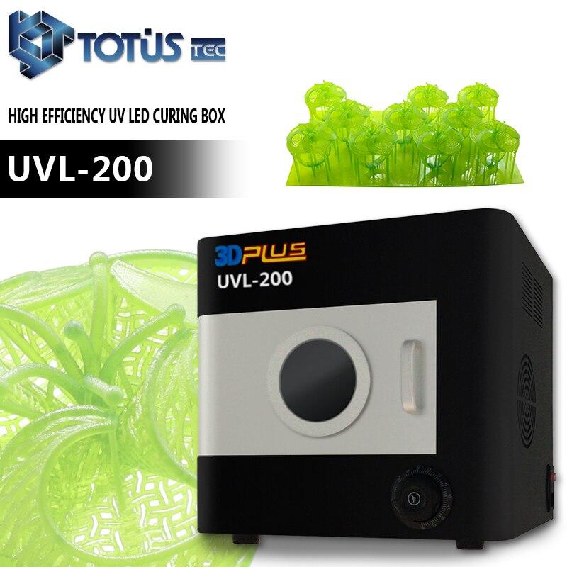 Approvisionnement d'usine DLP SLA 3D impression directement des modèles de résine coulable LED boîte de polymérisation de lumière uv
