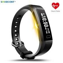 Smarcent Y11 Smart Band фитнес трекер сердечного ритма трекер активности часы монитор сна Смарт наручные браслет Pulsera inteligente