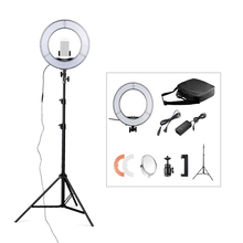 SAMTIAN 12″ 5500K 42W 180pcs LED Dimmable Photography Photo/Studio/Phone/Video LED Ring Light Lamp Kit With Tripod Stand