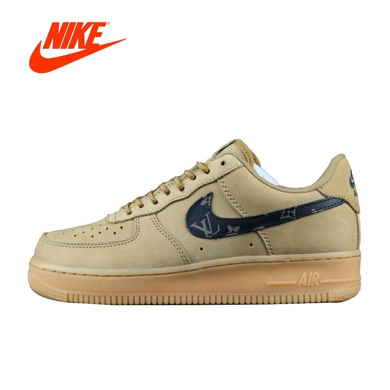 Оригинальный Новое поступление Аутентичные Nike Air Force 1 Lv8 LTR низкая AF1 Для мужчин дышащие Скейтбординг обувь спортивные кроссовки 888853-208