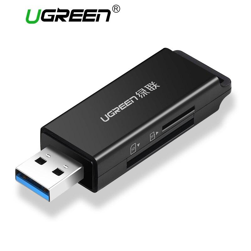 Ugreen Card Reader USB 3.0 SD/Micro SD TF OTG Type C Smart Memory Card Adapter for Laptop USB 3.0 Cardreader SD Card Reader