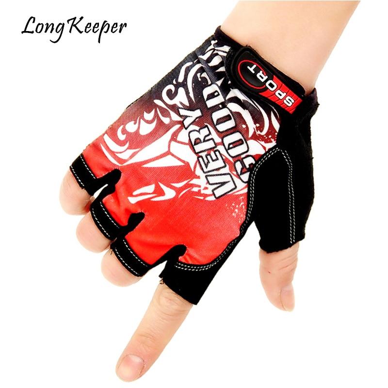 Long Keeper Men&Women Non-Slip Breathable Fitness Gloves Workout Weight Lifting Dumbbell Gloves Outdoor Driving Gants Moto G001