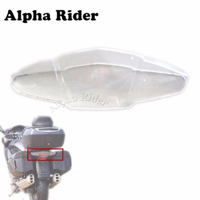Motorcycle Replacement Clear Lens Taillight Cover Rear Stop Lamp Guard Tail  Brake Light Cap For BMW