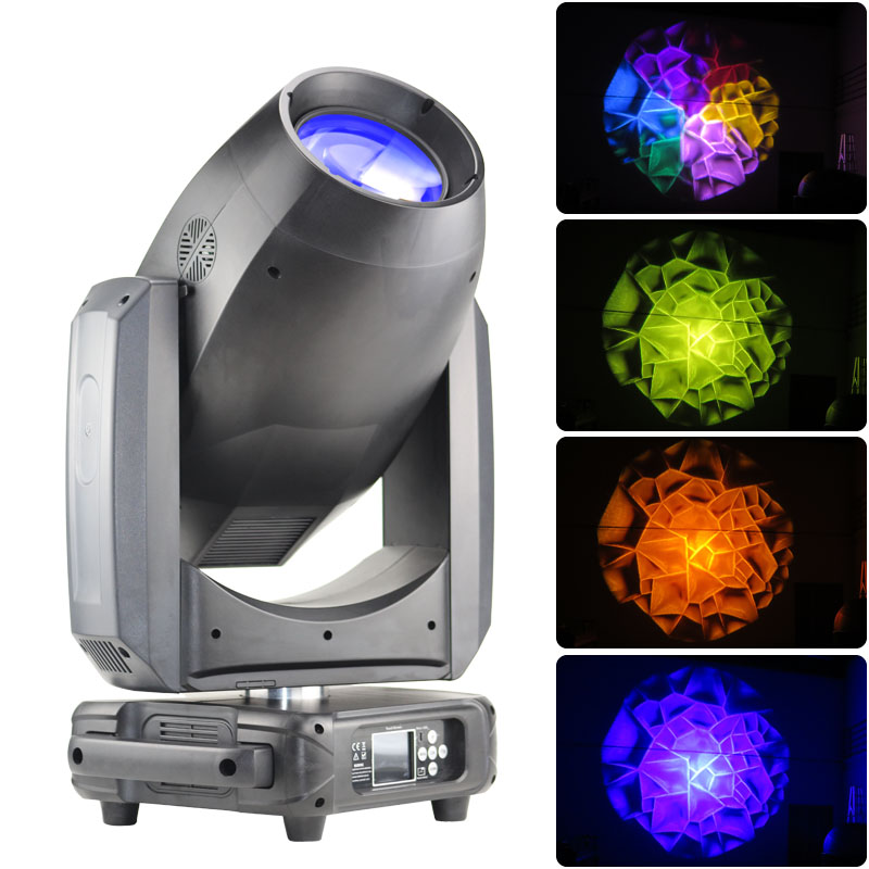 Temperature Contrl Protection 20r Beam Spot Wash 3 In 1 440w Moving Head Light