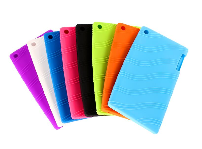 Free shipping For Lenovo tab2 A7-20 Soft Cover Protective silicone Case For Lenovo Tab 2 A7-20F / A7 20F Case lenovo tab 2 a7 20f 8gb