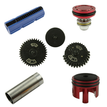 цены SHS original torque gear / piston / piston head / cylinder / cylinder head set parts for gearbox V.2 /V.3 AEG airsoft