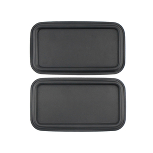 Image 2 - GHXAMP 8inch Flat Bass Passive Radiator Speaker Resonant Diaphragm Rubber sheet iron For 6.5 inch 8 inch Subwoofer 215*120MM 2PC
