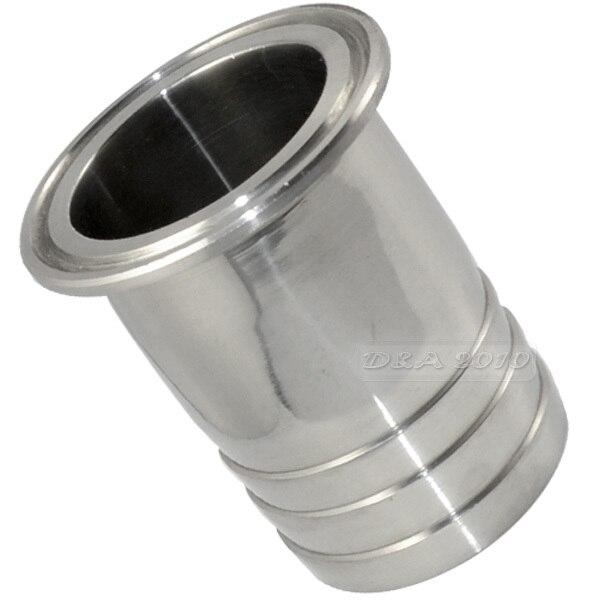 "51 mm 2/"" Tubo montaje Virola sanitarias codo 90 grados ss 316 L TRI CLAMP megairon"