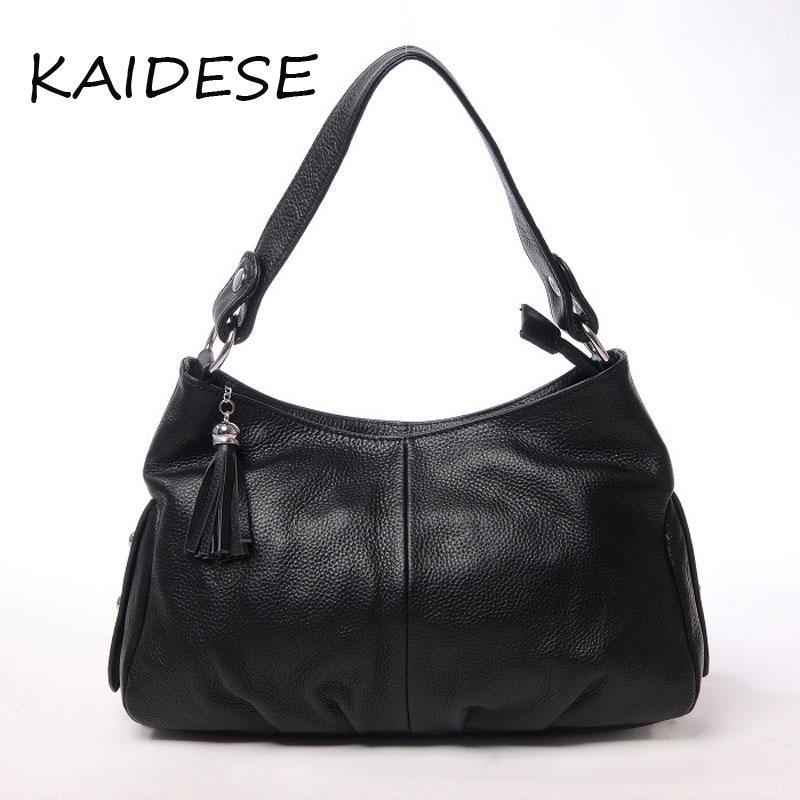 KAIDESE Europe 2017 new fashion handbags handbag leather handbags Boiled dumplings Shoulder Messenger Bag Large Dinner Bag