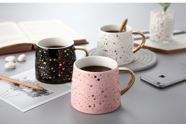Speckled Ceramic Coffee Cup
