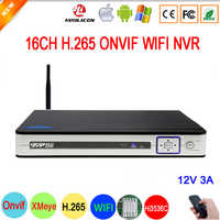 5mp/4mp/3mp/2mp/1mp IP Camera Silver Panel Hi3536D XMeye 5mp Audio H.265+ 16CH 16 Channel Onvif IP WIFI NVR Free Shipping